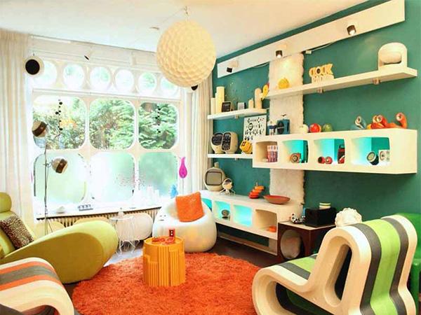 Retro phong cách thiết kế nội thất - xu hướng của giới trẻ