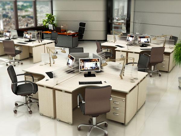Phòng làm việc hiện đại