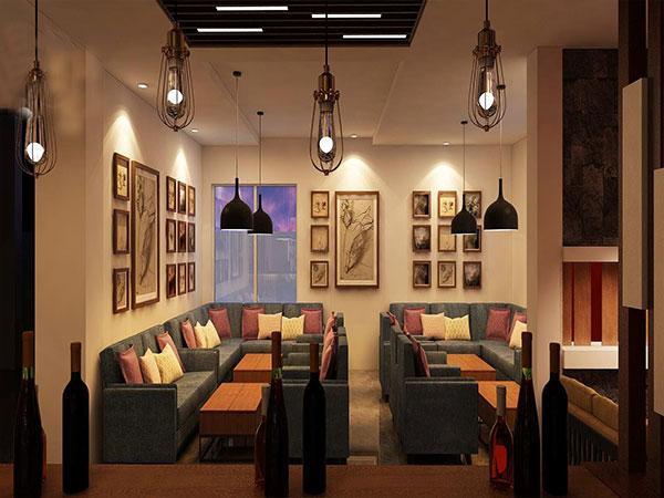 Nội thất quán cà phê hiện đại