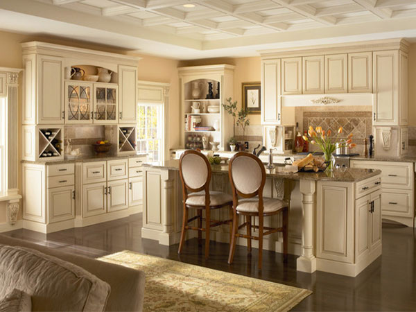 Nội thất nhà bếp sang trọng