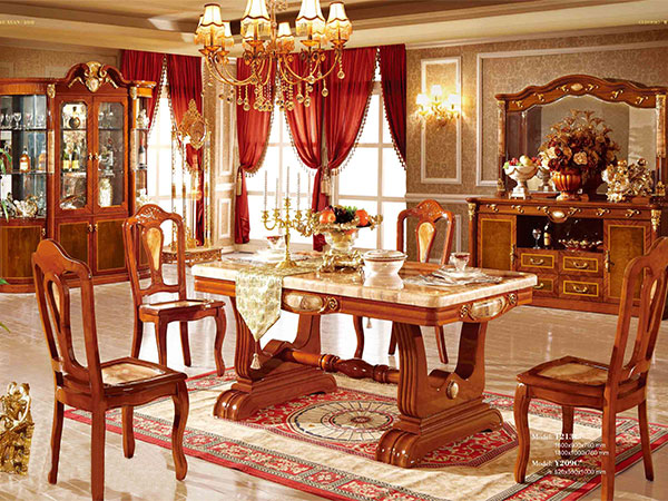 Nội thất bàn ăn cổ điển