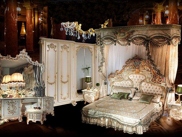 Nội thất giường cổ điển