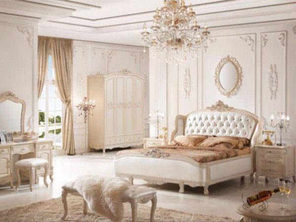Nội thất phòng ngủ cổ điển sang trọng