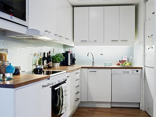 Nội thất bếp cho nhà nhỏ