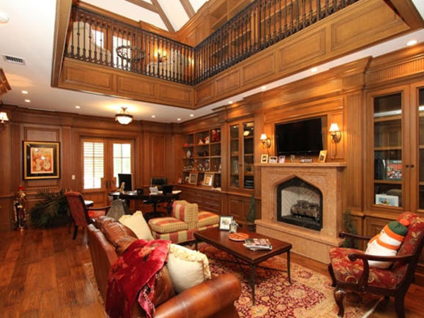 Nội thất phòng khách gỗ