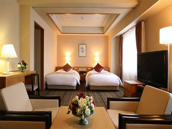Nội thất phòng ngủ khách sạn sang trọng